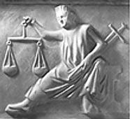 Gerechtigkeit. Representação medieval da Justiça