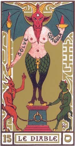 15. O Diabo - Le Diable