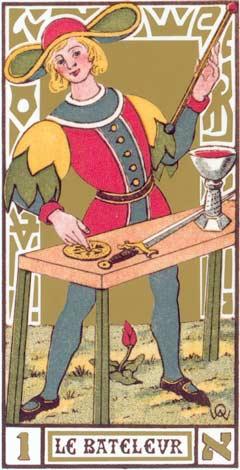 O Mago - Le Bateleur no Tarot de Oswald Wirth