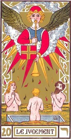 20. O Julgamento - Le Jugement no Tarot de Oswald Wirth