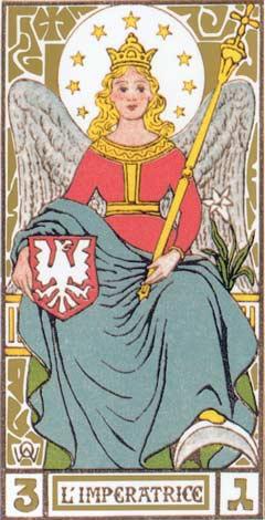 3. A Imperatriz - L'Imperatrice no Tarot de Oswald Wirth