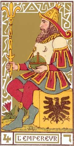 4. O Imperador - L'Impereur no Tarot de Oswald Wirth