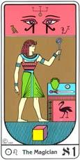 O Mago no Tarot Egipcio Kier