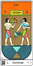 O Intercâmbio no Tarô Egípcio Kier