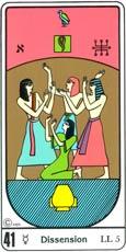 O Desassossego no Tarô Egípcio Kier