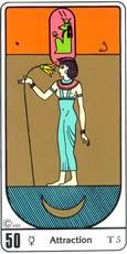A Afinidade no Tarô Egípcio Kier