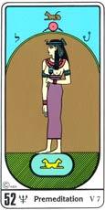 A Premeditação no Tarô Egípcio Kier