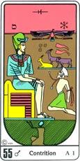 O Arrependimento no Tarô Egípcio Kier