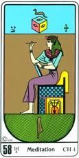 A Reflexão (Meditação no Tarô Egípcio Kier