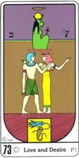 O Amor e o Desejo no Tarô Egípcio Kier