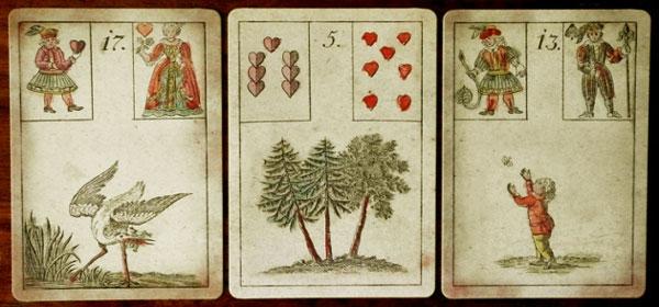 Jogo de Esperança - cartas restauradas por Ciro Marchetti