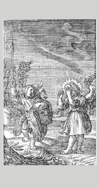 Louco - gravura de 1500
