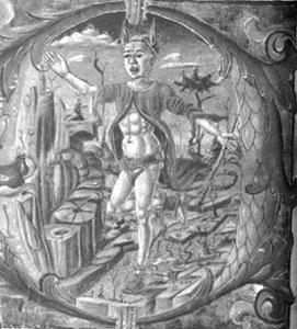Louco - gravura do sec. XV