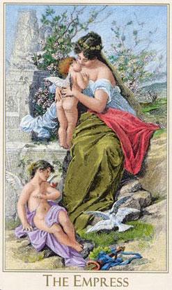 Empress - Victorian Romantic Tarot