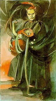 O Diabo, The Devil, Le Diable, Der Teufel, Il Diavolo no Renaissance Tarot