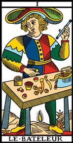 O Mágico no Tarô de Marselha-Camoin