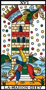 A Torre no Tarot de Marseille-Camoin
