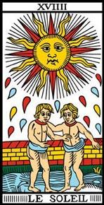 O Sol no Tarot de Marseille-Camoin