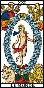 O Mundo no Tarot de Marseille-Camoin