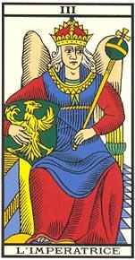 A Imperatriz no Tarot de Marselha-Kris Hadar