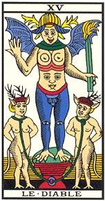 O Diabo no Tarot de Marseill-Kris Hadar