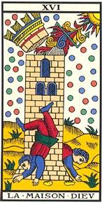 A Torre no Tarot de Marseille-Kris Hadar