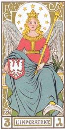 A Imperatriz no Tarot de Oswald Wirth