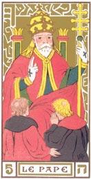 O Papa no Tarot de Oswald Wirth