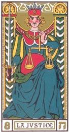 A Justiça no Tarot de Oswald Wirth