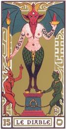 O Diabo no Tarot Oswald Wirth