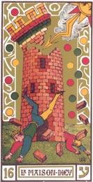 A Torre no Tarot de Oswadl Wirth