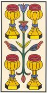 O Quatro de Copas no Tarot de Marselha - Kris Hadar