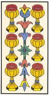O Seis de Copas no Tarot de Marselha - Kris Hadar