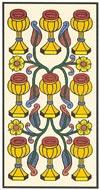 O Nove de Copas no Tarot de Marselha - Kris Hadar