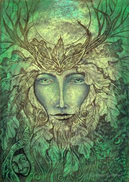 O Homem Verde da tradição celta