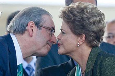 Dila e Eduardo Cunha