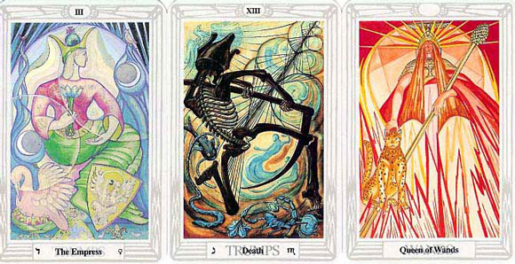 Cartas do thoth Tarot de Aleister Crowley