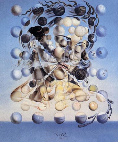 Galatea - obra de Salvador Dali