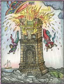 A Torre no Tarot de Kim Waters
