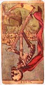 A Morte no Tarô de Cesca