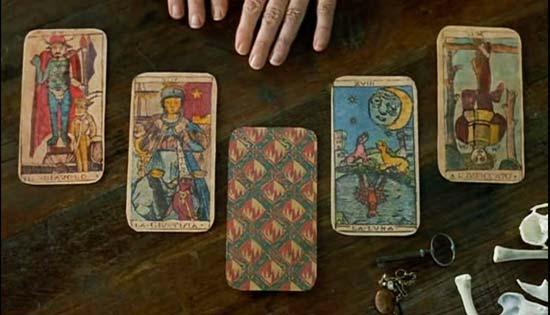 O uso divinatório das cartas
